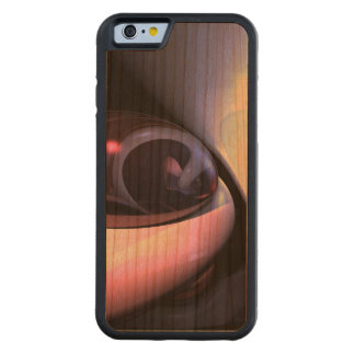 Love Grooves Abstract Carved Cherry iPhone 6 Bumper Case