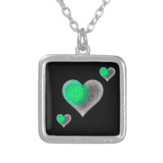 Love Grooves necklace at Zazzle