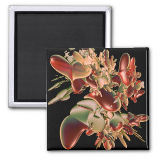 Love Grows 2 Inch Square Magnet