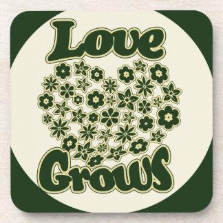 Love Grows Beverage Coaster