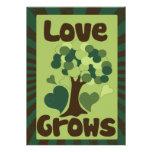 Love Grows Custom Invite