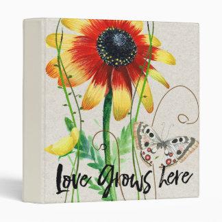 Love Grows Here Design Binder