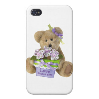Love Grows Here Teddy Bear iPhone 4/4S Cases
