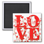 LOVE Grows Magnet