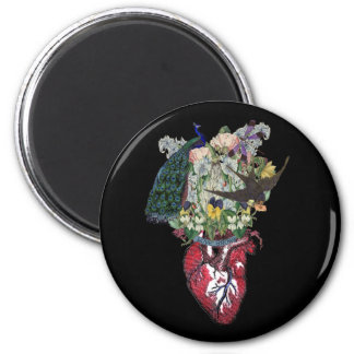 Love Grows 2 Inch Round Magnet