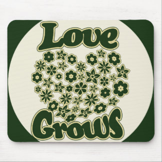 Love Grows Mouse Pad