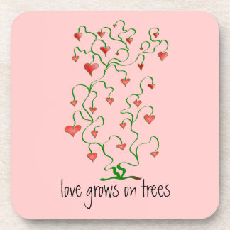 Love Grows on Trees Coaster