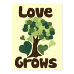 Love Grows Post Cards