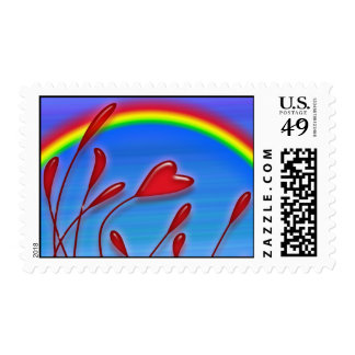 Love Grows postage