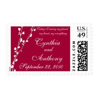 Love Grows Wedding Stamp