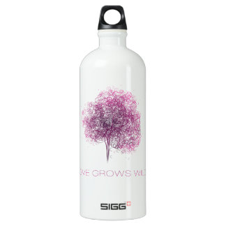 Love grows wild water bottle
