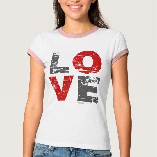 Love Grunge - Valentines Day Romance vintage T-Shirt