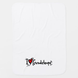 love guadeloupe swaddle blanket