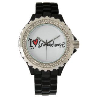 Love guadeloupe wristwatch