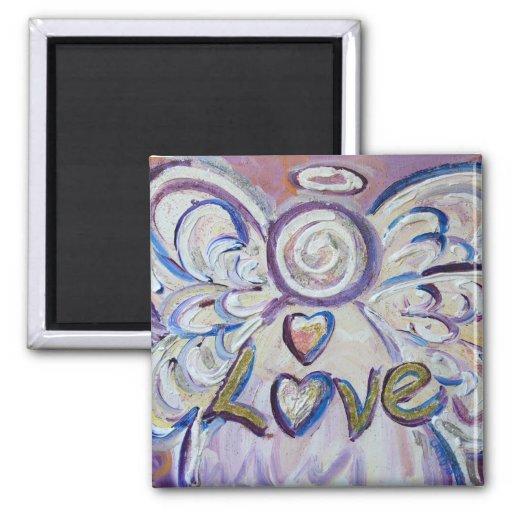 Love Guardian Angel Word Custom Magnet