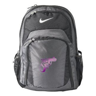 Love gun. nike backpack