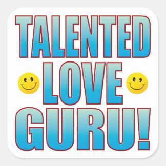 Love Guru Life B Square Sticker