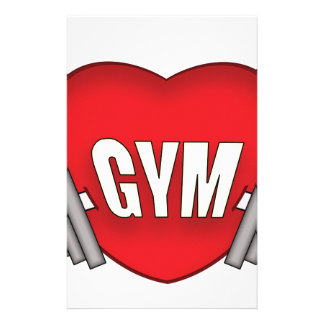 love gym stationery