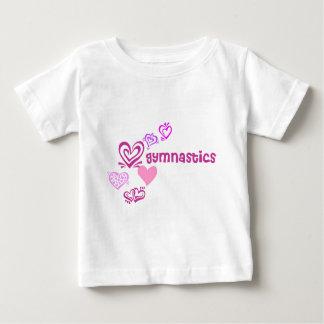 Love Gymnastics Baby T-Shirt