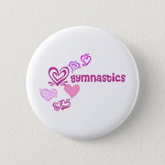 Love Gymnastics Button