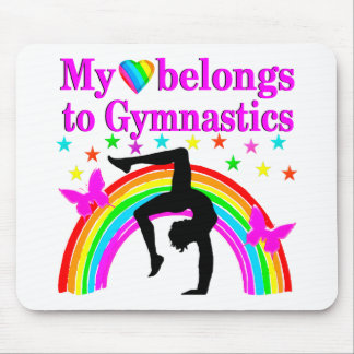 LOVE GYMNASTICS FOREVER MOUSE PAD