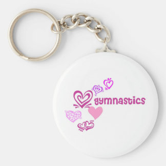 Love Gymnastics Keychain