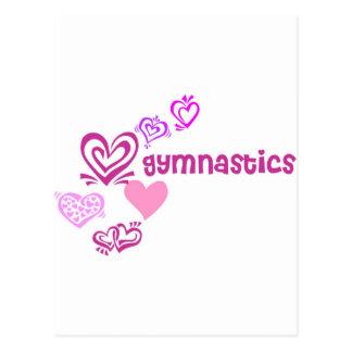 Love Gymnastics Postcard