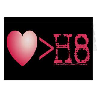 love > H8 Card