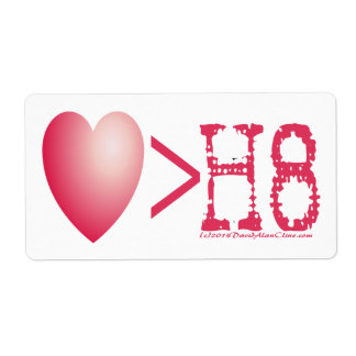 LOVE > H8 LABEL