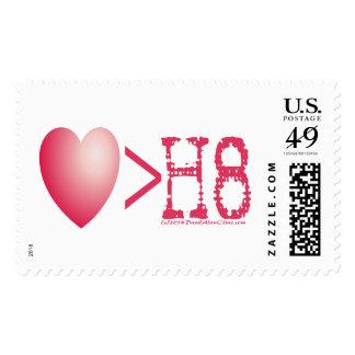 LOVE > H8 POSTAGE