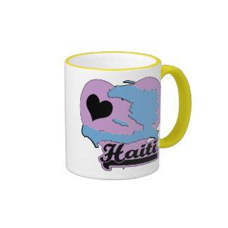 Love Haiti Ringer Coffee Mug