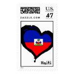 Love Haiti Postage Stamp