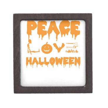 Halloween Themed Love Halloween costume tshirt with skeleton, bats Gift Box