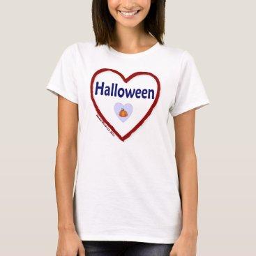 Beach Themed Love Halloween T-Shirt