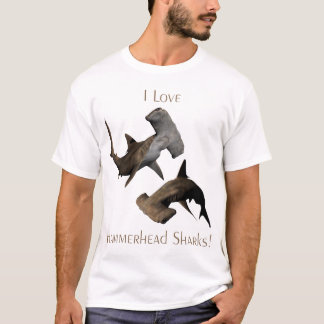 Love Hammerhead Sharks T-Shirt