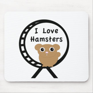 Love Hamsters Mouse Pad