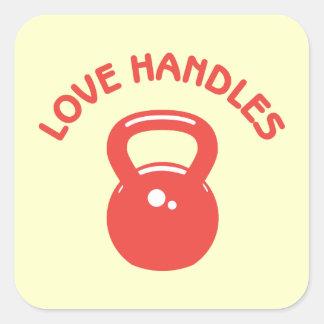 Love Handles Square Sticker