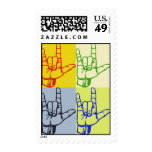 Love Hands Postage Stamp