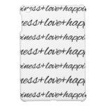 Love + Happiness iPad Mini Case