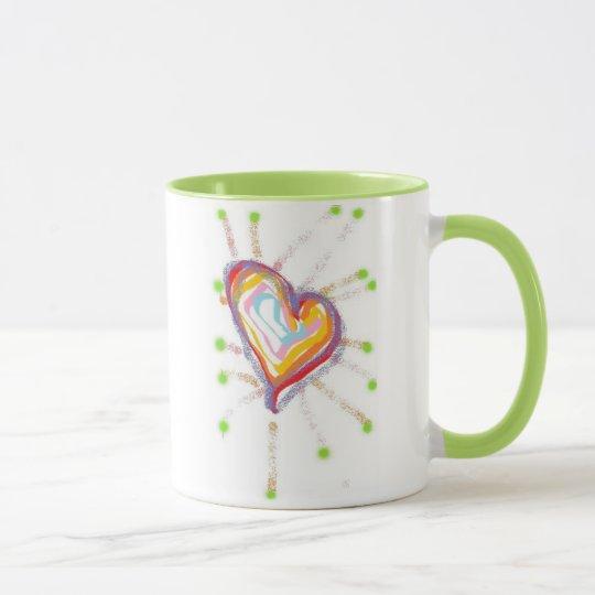 Love & happiness mug