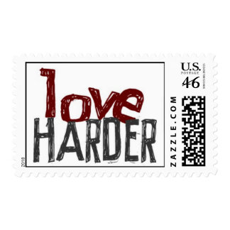 Love Harder Stamps