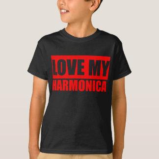 Love Harmonica T-Shirt