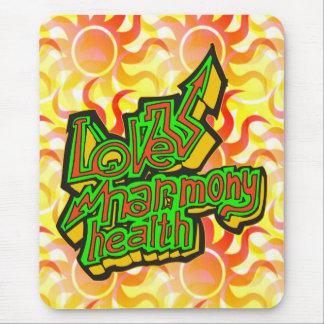 Love Harmony Health Mouse Pad