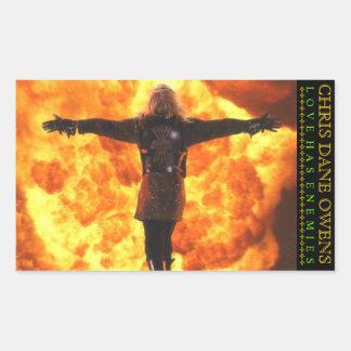 Love Has Enemies - FLAME Sticker