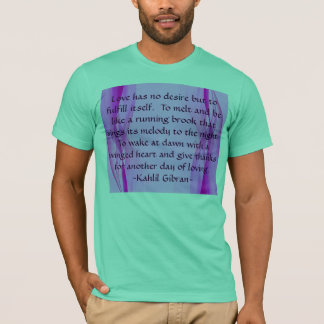 Love has mens shirt