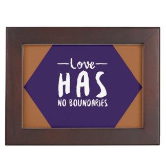 Love Has No Boundaries Memory Box