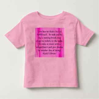 Love has toddler shirt