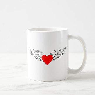 LOVE HAS WINGS COFFEE MUG