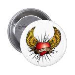 Love has Wings Pin