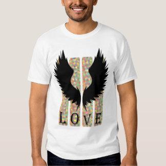 Love has Wings T-shirt